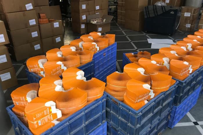 Quality Control Logistics